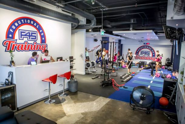 f45 gym construction toronto
