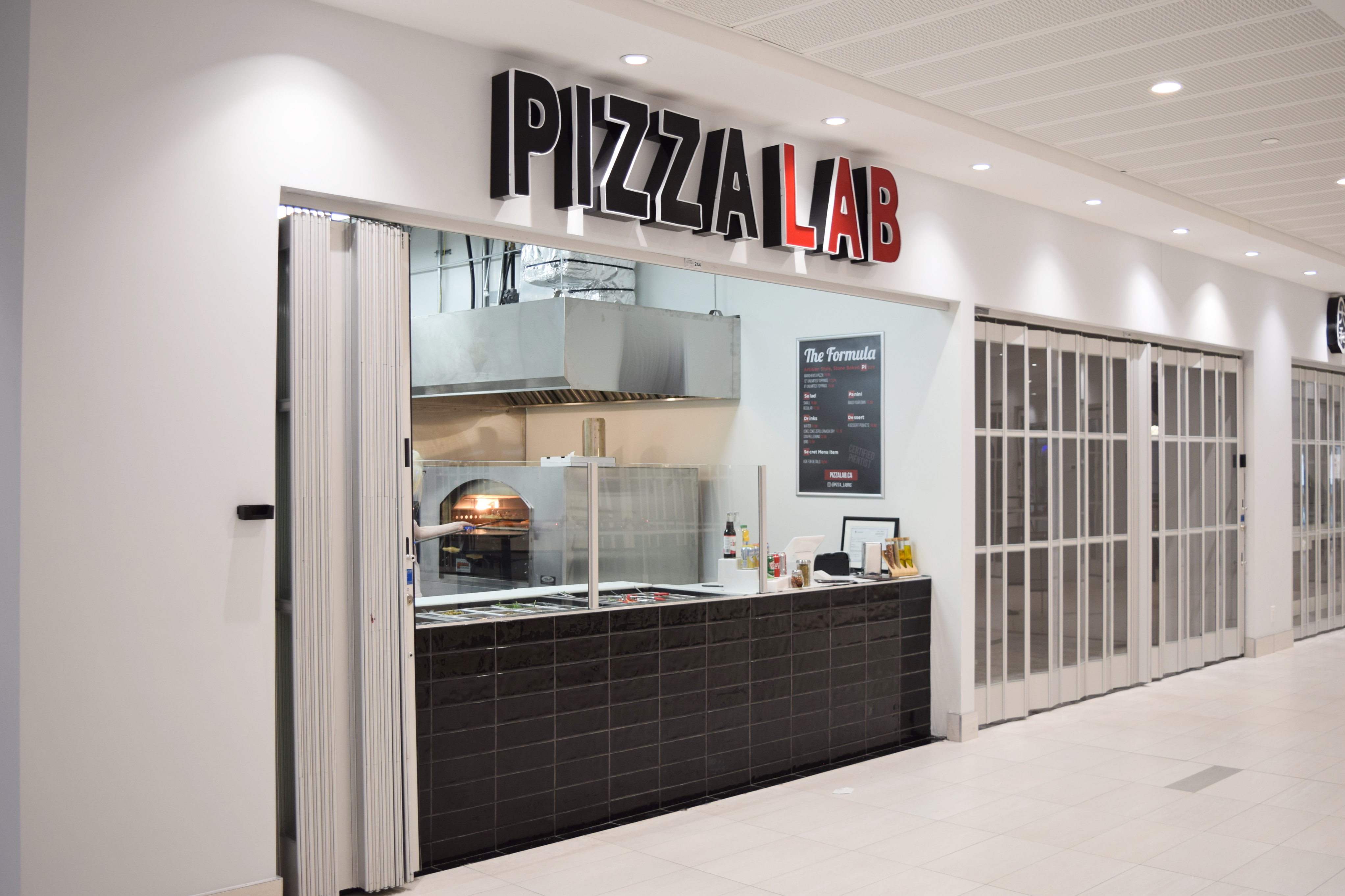 Pizza Lab Vaughan Exterior Commercial Construction