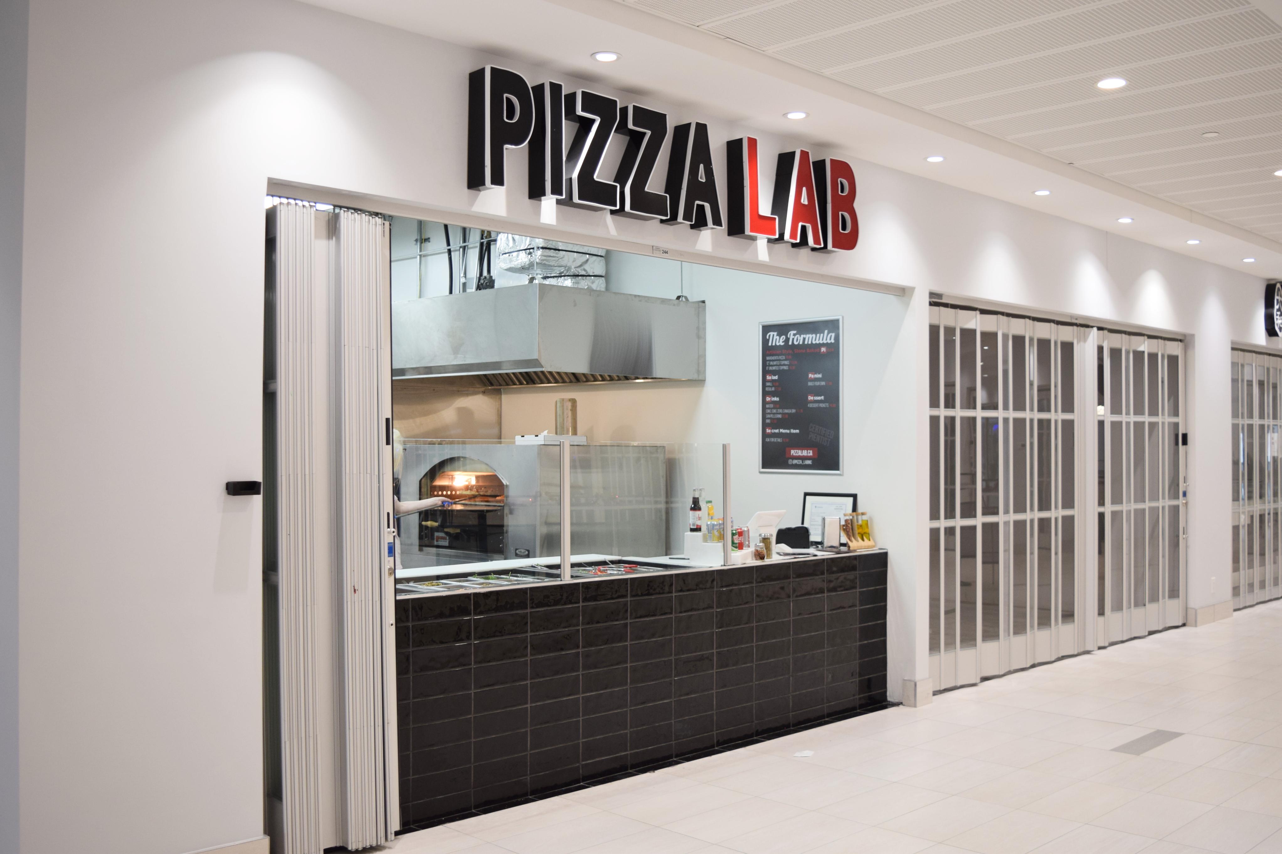Pizza Lab Vaughan Exterior Commercial Construction