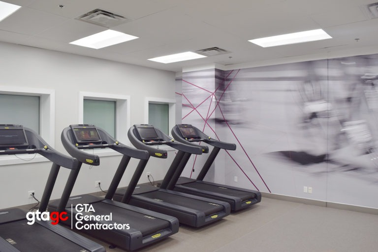 toronto fitness centre renovation company