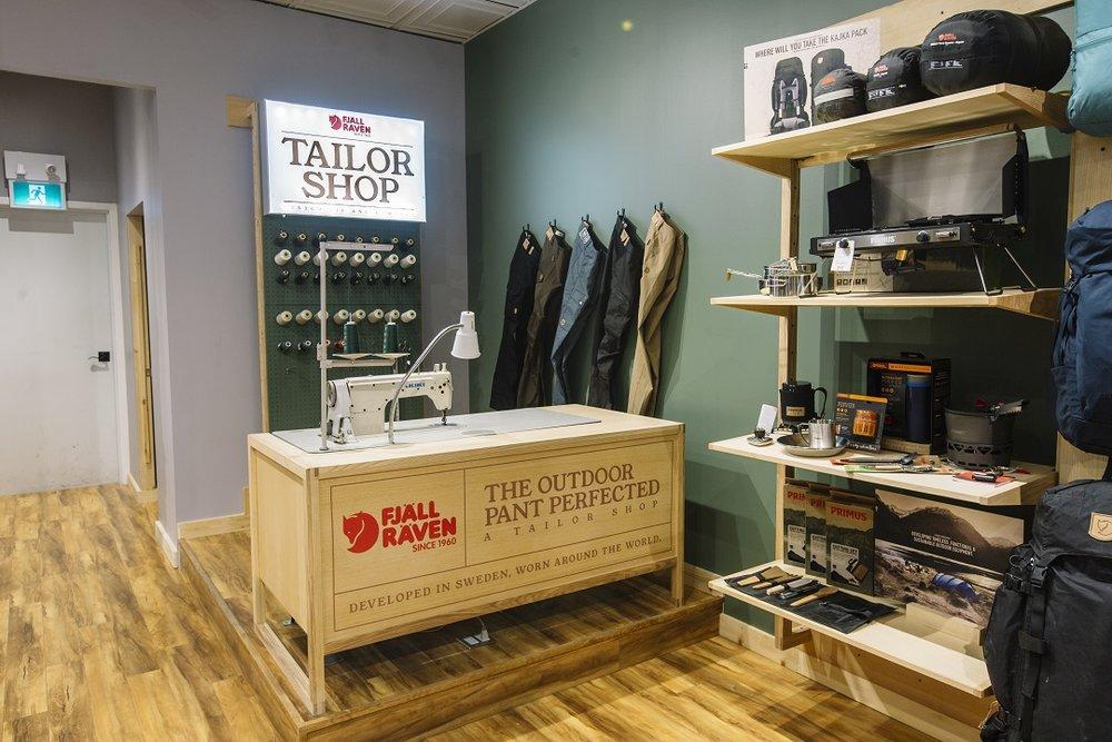 Toronto Fjallraven CLothing Store Construction Companies