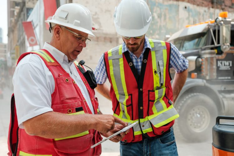 Construction Managers on Project